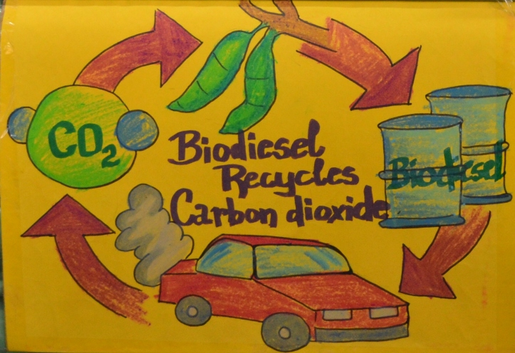 Biodiesel is a carbon-neutral fuel...