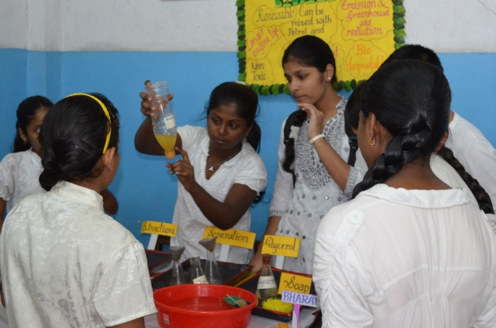 Yamuna explains how biodiesel can be made and used