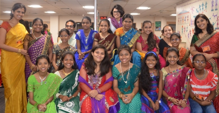 Our 8th standard class were with us for a four-month intervention which ended in April.