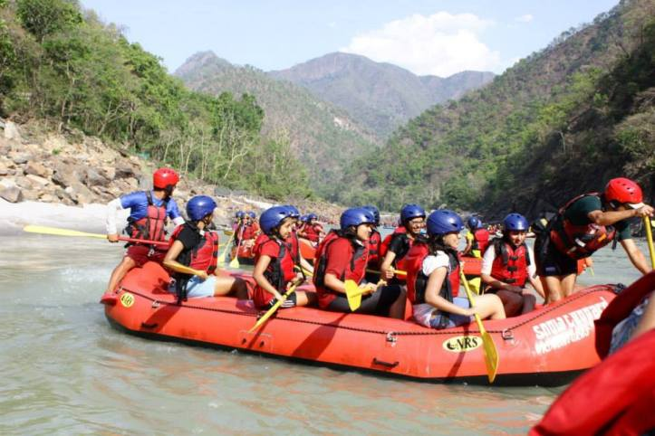 ...And River Rafting!