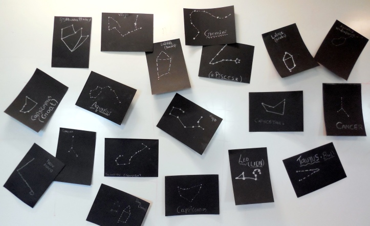 A board full of Constellations