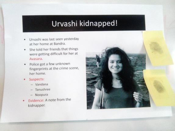 The kidnap poster